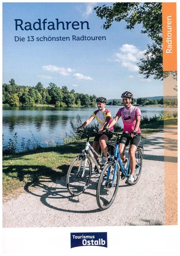 Radkarte - Die 13 schönsten Radtouren