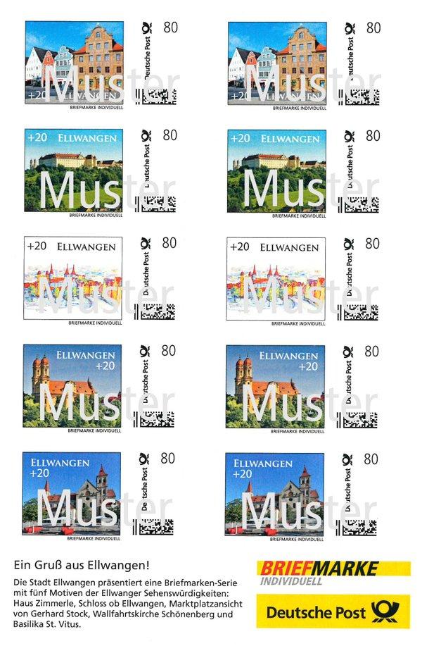 Ellwanger Briefmarken